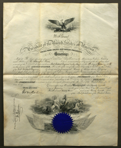 Ulysses S. Grant: Signed document