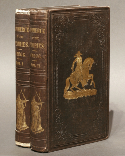 Josiah Gregg: First edition of Commerce of the Prairies